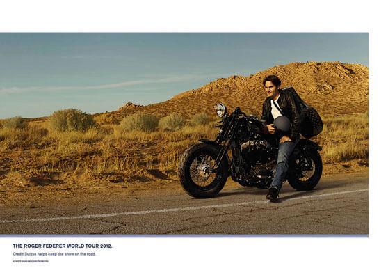 Federer moto journey