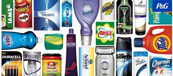 Productos de Procter & Gamble
