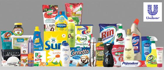 productos clásicos Unilever