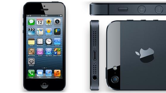 iphone 5 frente y perfil