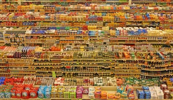 Lineales de supermercado Fred Meyer
