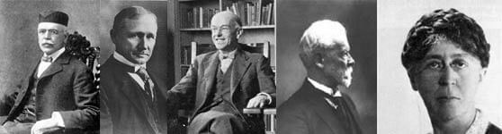 Henry Towne Frederick Winslow Taylor Paul Mayo Henri Fayol Mary Parker Follet