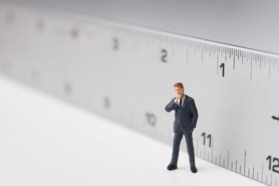 Ejecutivo marketing regla de medir causa efecto