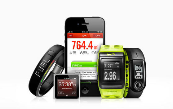 app nike+ y accesorios fuel band y sport watch GPS