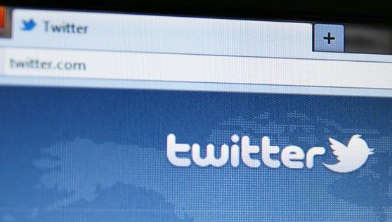 interfaz de Twitter con su logotipo