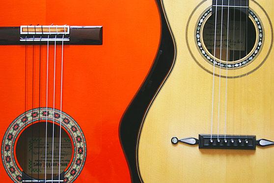 dos guitarras juntas
