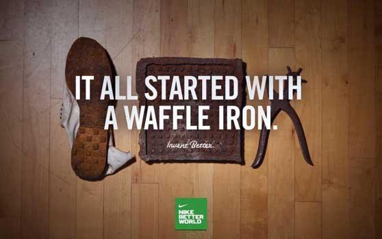 zapatillas Nike directamente de la gofrera