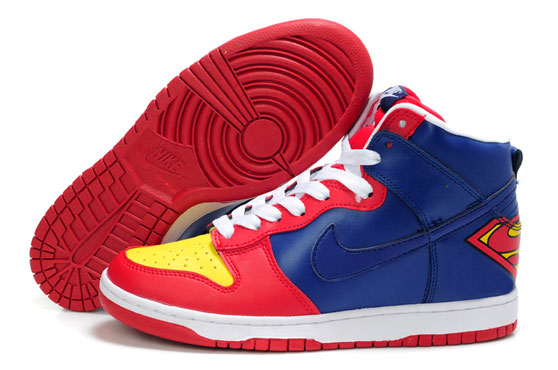 Zapatillas Nike customizadas Superman