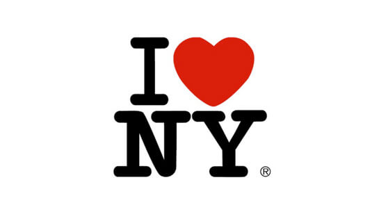 logotipo I love New York de Milton Glaser