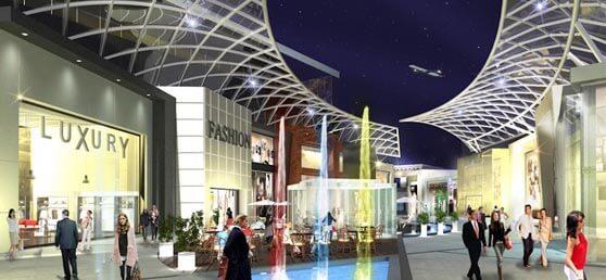 centro comercial lujo no construido en Valdebebas