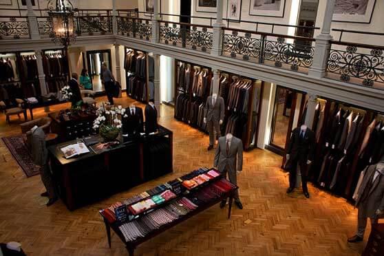 Inside Savile Row Store experience
