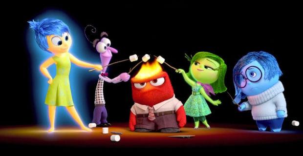 Personajes película Inside Out Disney Pixar