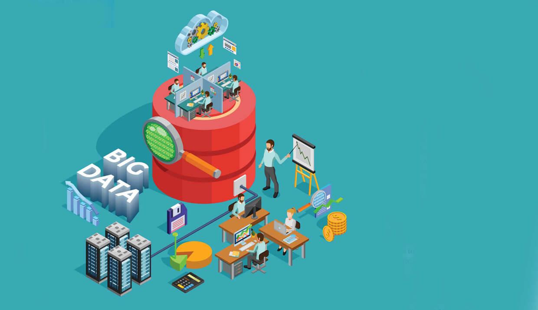 dibujo big data almacen y representacion de datos