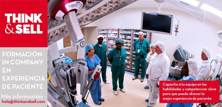 curso de formacion en experiencia de paciente quirofano con personal medico